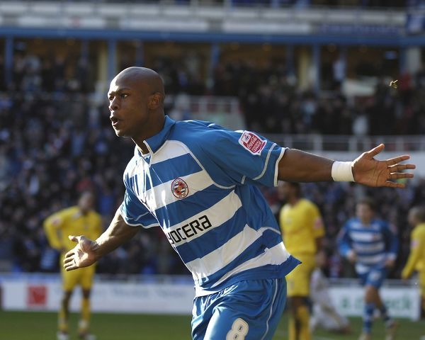 Leroy Lita celebrates his goal in the 2-1 win over Preston