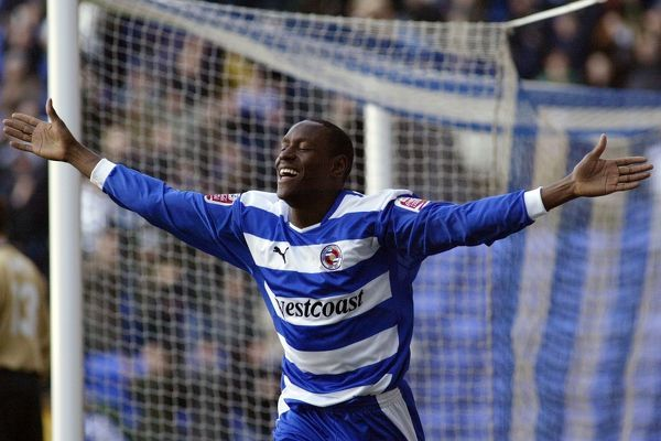 Sonko scores his first for Reading FC against Watford 04/05 Seasaon