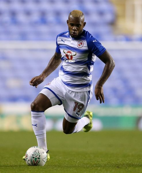 Reading's Leandro Bacuna during the Carabao Cup, third round match at the Madejski Stadium, Reading. PRESS ASSOCIATION Photo. Picture date: Tuesday September 19, 2017. See PA story SOCCER Reading. Photo credit should read: Scott Heavey/PA Wire