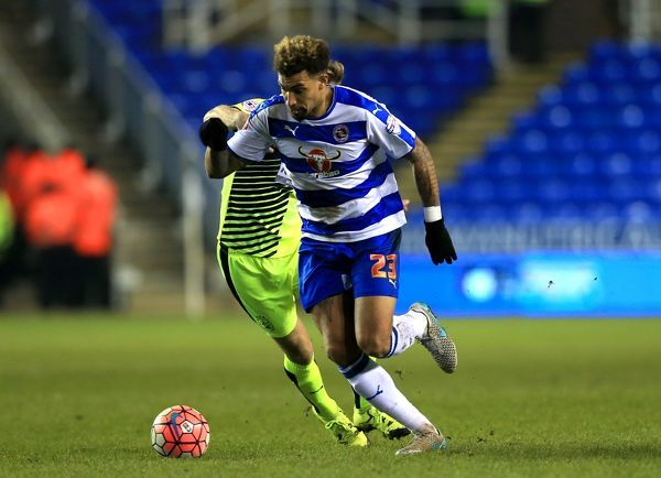 Reading's Daniel Williams in action