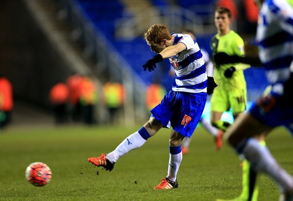 Reading's Fernandez Alex scores his sides fifth goal of the match