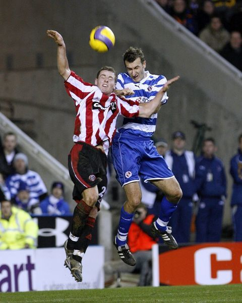 Reading v Sheffield Utd, FA Barclays Premiership, 20th January 2007
