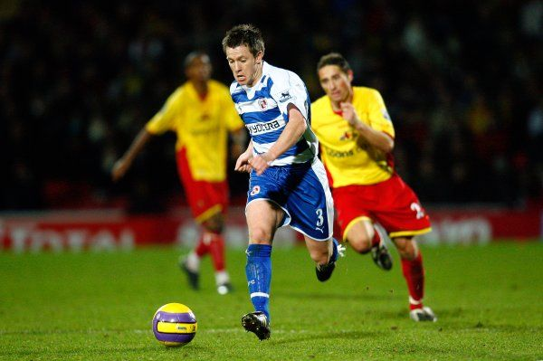Nicky Shorey breaks forward