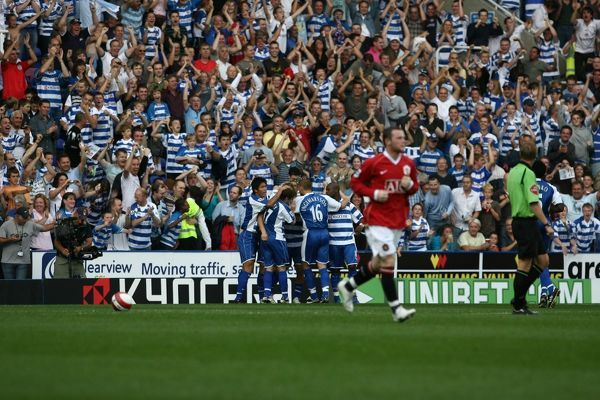 Reading vs Manchester United, Saturday 23rd September 2006
