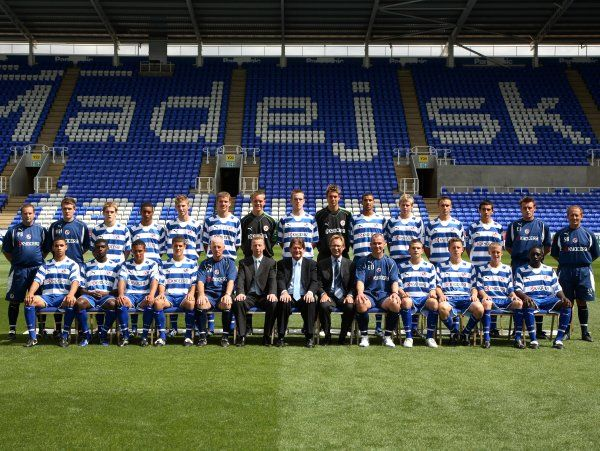 Reading FC Academy Team Photo 2006-7