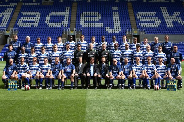 The official Reading FC squad shot 2006-7