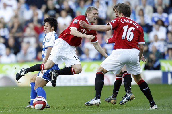 Seol Ki-Hyeon, Darren Fletcher & Michael Carrick