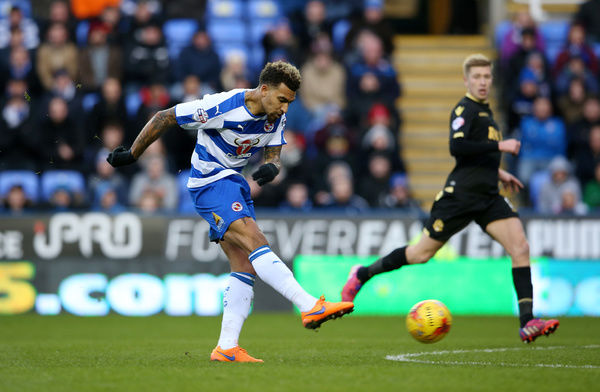 Reading's Danny Williams scores their second goal