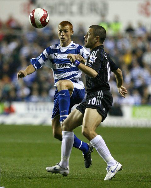 Steve Sidwell challenges Joe Cole in the 1-0 defeat at the Medejski
