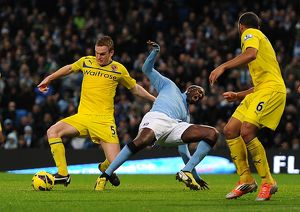 <b>Manchester City v Reading : Etihad Stadium : 22-12-2012</b><br>Selection of 1 items