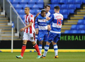 <b>FA Cup : Round 4 : Reading v Sheffield United : Madejski Stadium : 26-01-2013</b><br>Selection of 6 items