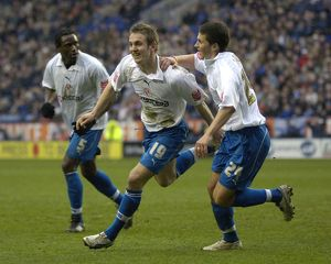 kevin doyle scores reading leicester city