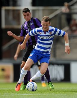 <b>Pre Season Friendly : Bristol Rovers v Reading</b><br>Selection of 3 items