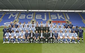 Reading FC first team 2008-9