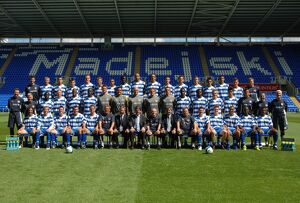 Reading FC official team photo 2007-8